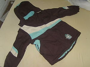 Girls Athletic works thick winter coat ideal for school size girls small