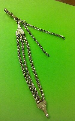Victorian Chatelaine silver metal
