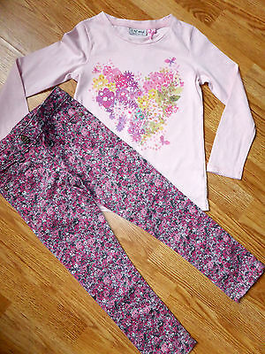 Bnwt Next Ditsy Print Jeans And Top Set Size 5 Years