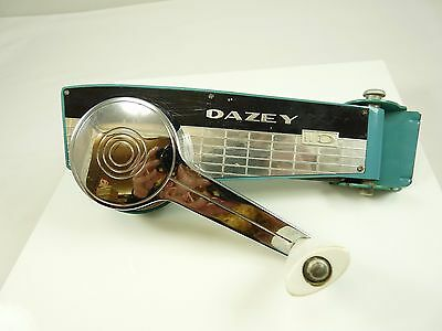 Vintage Turquoise DAZEY Wall Mount Can Opener