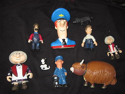 Postman Pat Figures And Animals