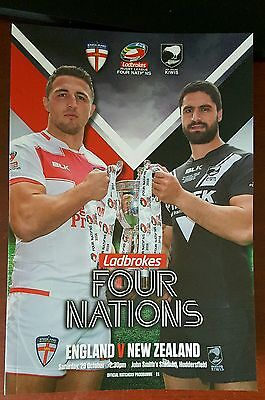 2016 Four Nations: England vs. New Zealand - 29/10/2016