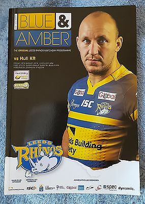Leeds Rhinos vs. Hull Kingston Rovers - 12/8/2016