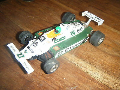 Scalextric C138 Saudia Leyland Williams Fwo 7B F1 Car In Good Condition