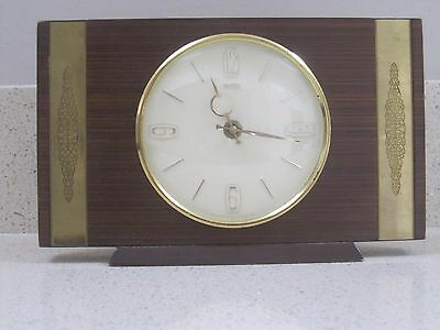Smith Vintage Battery Mantel Clock