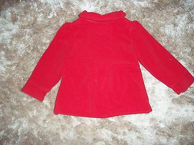NEXT 18-24M Girl's coat winter RED OFICIAL