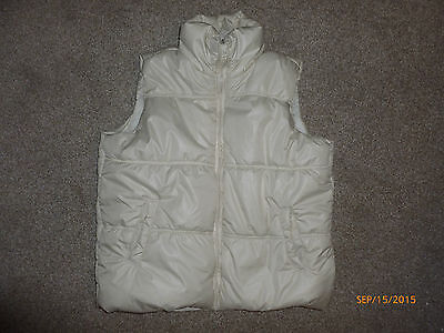 Next Girls Sleeveless Jacket Size 7-8Y