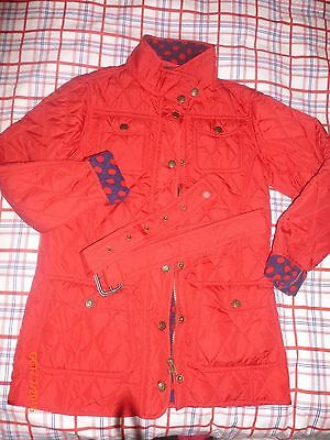 Next girls padded/quilted jacket/coat size 11-12 y