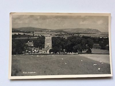 View Of Old Cleeve Somerset Card From 1947