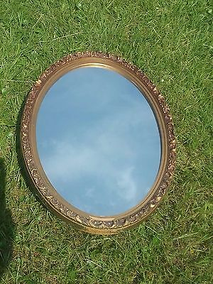 Vintage Ornate cameo Victorian Style Gold Bathroom Medicine Cabinet Mirror Chic