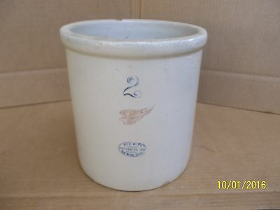 Vintage Red Wing 2 Gallon Crock