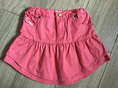 girls pink skirt 4 years DISEL worn once, in perfect condition