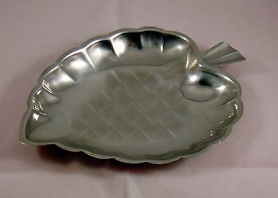 Retro Strawberry Shaped Stainless Steel Dish for Christmas Nuts etc