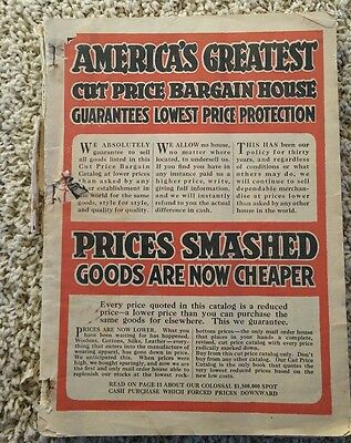 Vintage Chicago Mail Order Catalog Co. 1920 Fall Winter