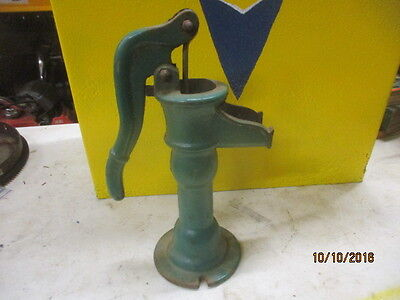 Vintage ANTIQUE Cast Iron Hand WATER WELL  PUMP Signed Acme 1912