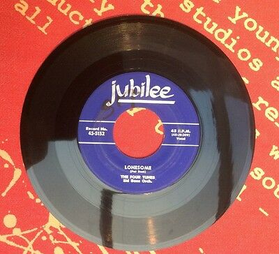 LONESOME - THE FOUR TUNES - 45rpm 5152 - JUBILEE Records USA