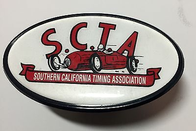 SCTA Hitch Cover Insert Hot Rod Tow Vehicle Land Speed Racing Bonneville