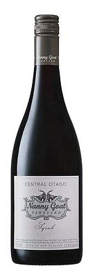 Nanny Goat Syrah 2012 (6 x 750mL), Central Otago, NZ.
