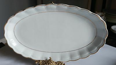 "Walbrzych Empire 13 1/2"" Oval Serving Platter in Excellent Condition"