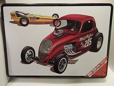 AMT Altered Fiat coupe double dragster special edition 1/25 scale scale