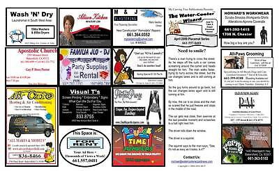 Placemat Business Opportunity Earn Top Dollars Working From Home Low Start-up