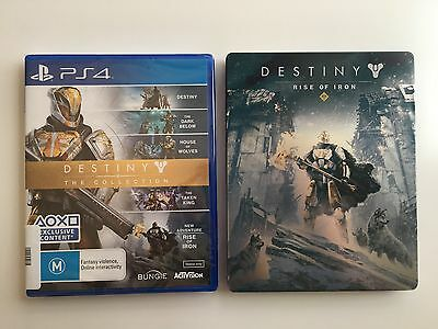 Brand New and VERY RARE - Destiny The Collection Steelbook Edition for PS4!