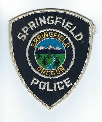 Springfield (Lane Co.) OR Oregon Police Dept. patch - NEW!