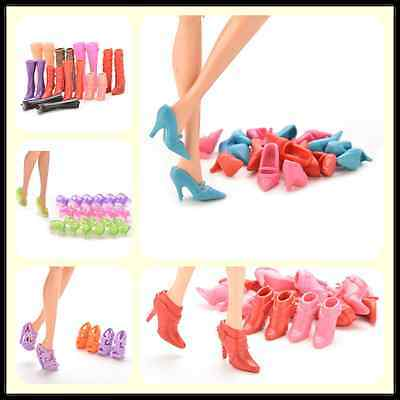 Multiple Choice Mix Shoes Boots for Barbie Doll Girls Play House Gift tbca