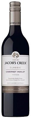 Jacob's Creek `Classic` Cabernet Merlot 2015 (12 x 750mL), SE, AUS.