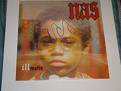 Nas Signed Autographed Illmatic Lp Nasir Jones Exact Proof N.y. State Of Mind