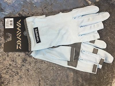 DAIWA Light Gloves DG-6601 size:Free(Japan) color:Light Blue FREE SHIPPING