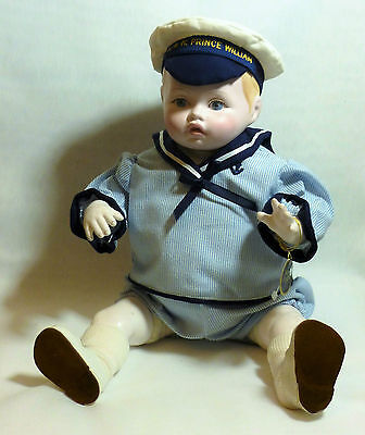 ROYAL DOULTON NISBET HRH PRINCE WILLIAM DOLL Limited Edition  UNBOXED 1982/3