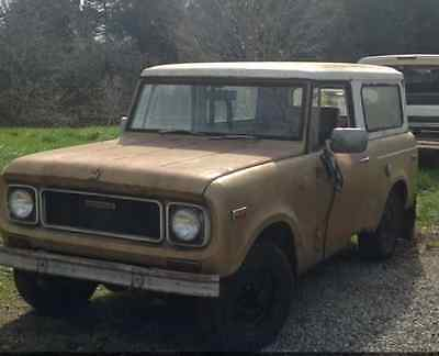 1970 International Harvester Scout  scout