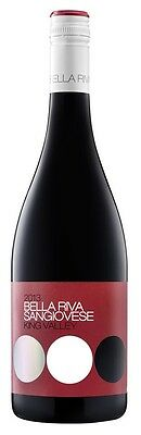 De Bortoli `Bella Riva` Sangiovese 2014 (6 x 750mL), King Valley, VIC.