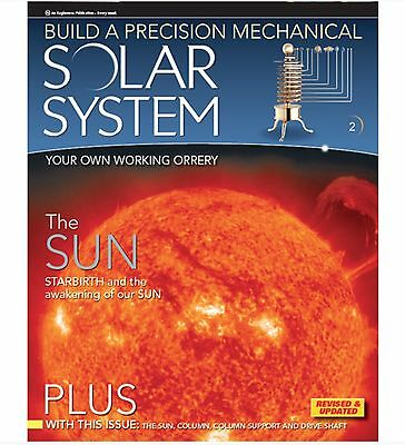 Eaglemoss The Solar System: The Sun - Magazine Issue 2 - New - Magazine & Parts