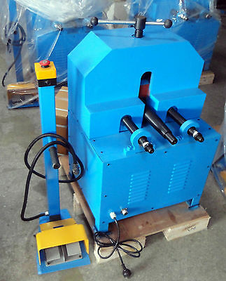16-76mm Electric Section & Pipe Tube Rolling Machine Multifunction Pipe Bender