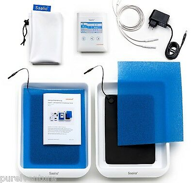 Saalio Iontophoresis Device - Treat Excessive Sweating - Hands, Feet & Armpits