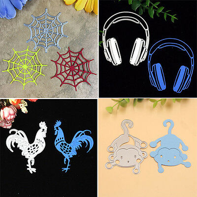 Metal Cutting Dies Stencils DIY Scrapbooking Album Paper Card Diary Crafts Decor