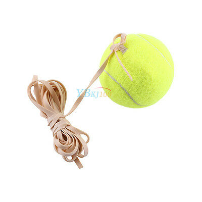 Training Tennis Ball with High Elasticity Rubber Rope String Practice Sports