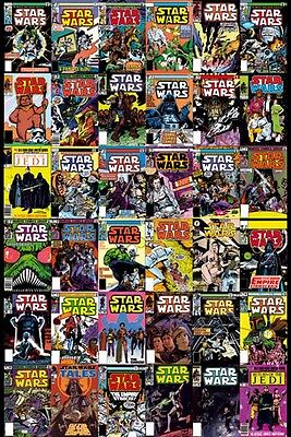 "Star Wars Poster ""comic Covers""  Licensed ""brand New"