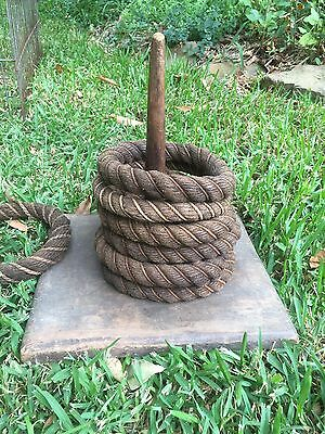 Vintage Rope Quoits