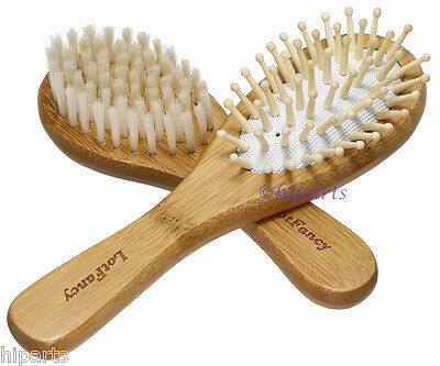 Baby Infant Toddler Hair Brush Set Safe Soft Bristle Cradle Cap Scalp Massage