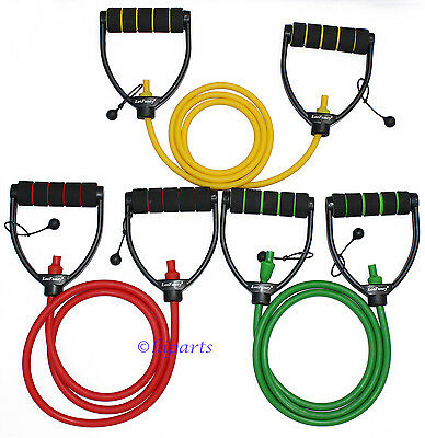 Exercise Resistance Band Yoga Pilate Gym Fitness Strength Workout Stretch Bands