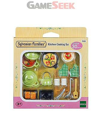 Sylvanian Families Kitchen Cooking Set - Toys Brand New Free Delivery