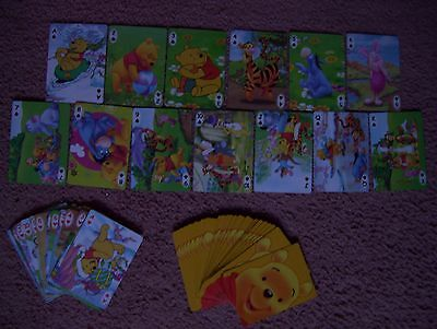 Winnie The Pooh Deck Of Playing Cards.(Unused=Mint)