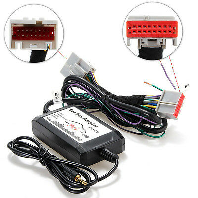 Coche CD Audio Radio MP3 Player Interface 3.5mm Aux Adapter para Ford Focus Edge
