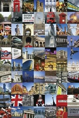 "London Landmarks Poster ""licensed"" Brand New"