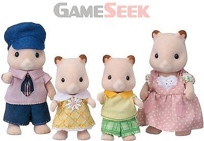 Sylvanian Families Hamster Family - Toys Brand New Free Delivery