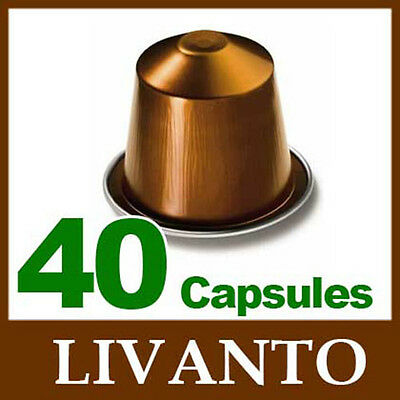 4x10 LIVANTO Capsules Nespresso Coffee *BRAND NEW ~ CHRISTMAS*