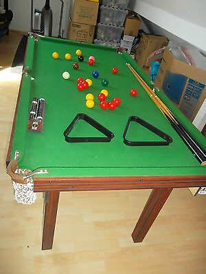 Snooker & Table Tennis 2in1
